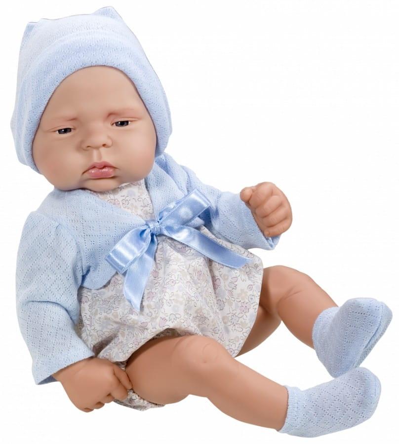 Кукла-пупс Asi 323961 Лукас - 42 см (в голубой шапочке)