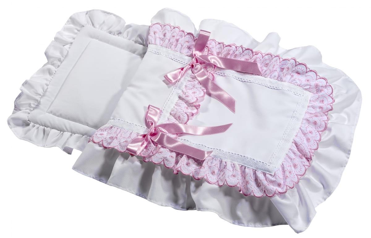 Конверт белый с розовыми бантами для кукол ASI
