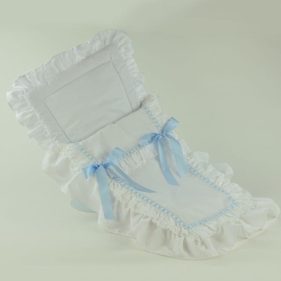 Конверт белый с голубыми бантами для кукол Asi 0000088