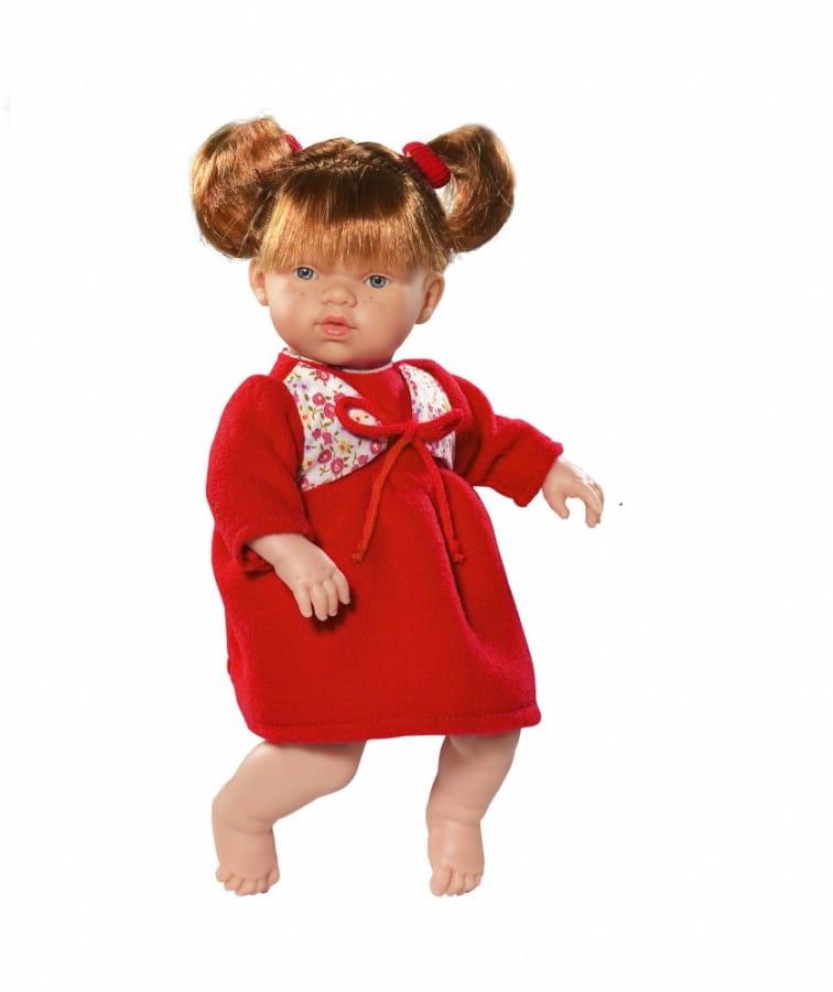Кукла-пупс Asi 443810 Ната - 25 см (в красном платье)