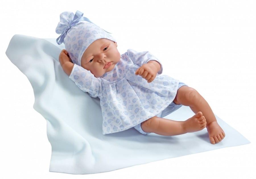Кукла-пупс Asi 323951 Лукас - 40 см (в голубом костюмчике)