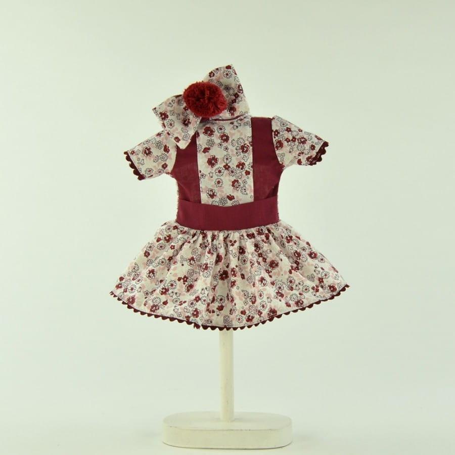 Одежда для кукол Asi 0000093 Платье в цветочек - 30 см