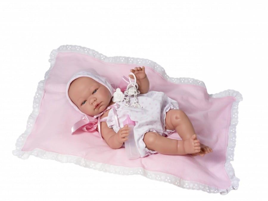 Кукла-пупс Asi 363510 Мария - 43 см (в белом комбинезоне)