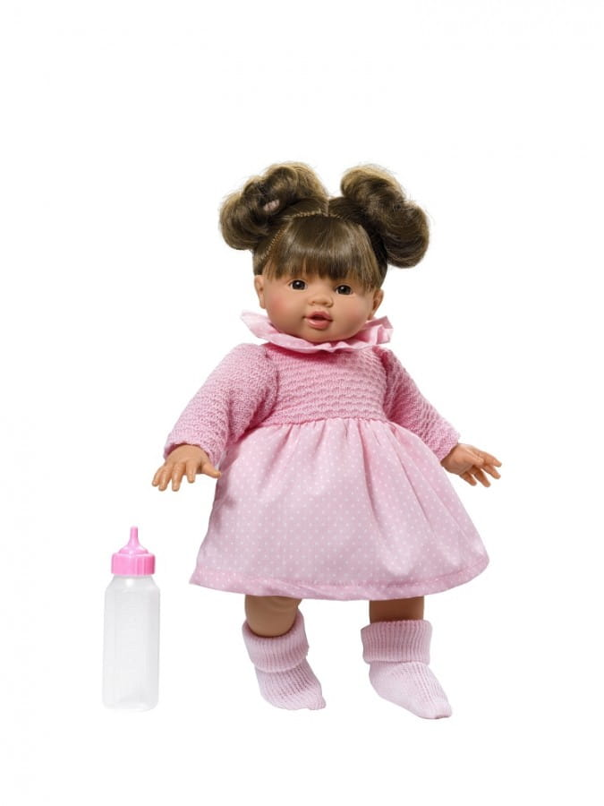 Кукла-пупс Asi 2430050 Эмма - 36 см (в розовом платье)