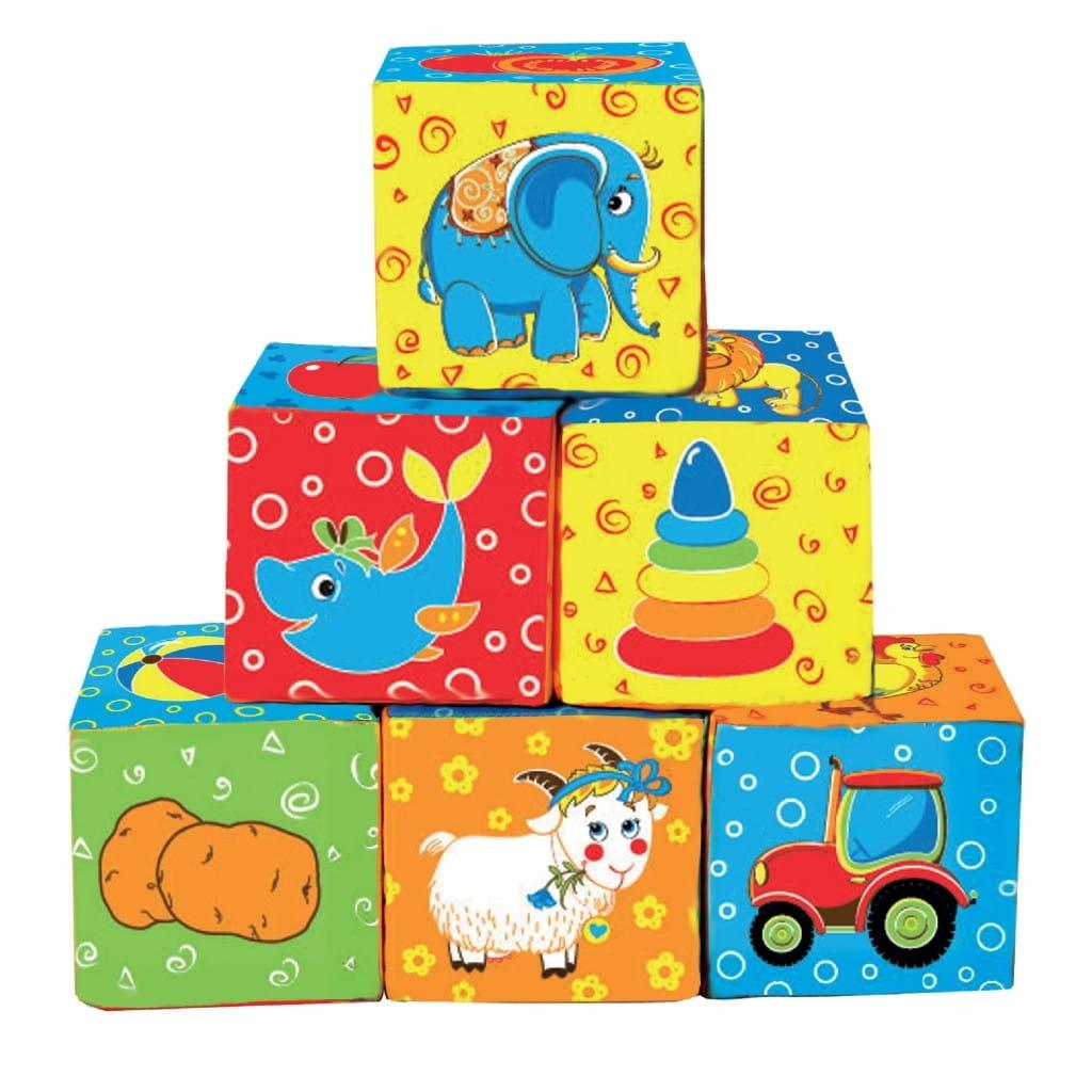 Кубики Macik MKP 8101-10 Мой маленький мир