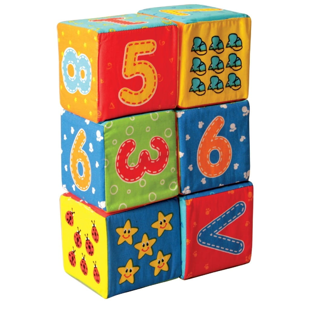 Кубики Macik MKP 8101-12 Цифры