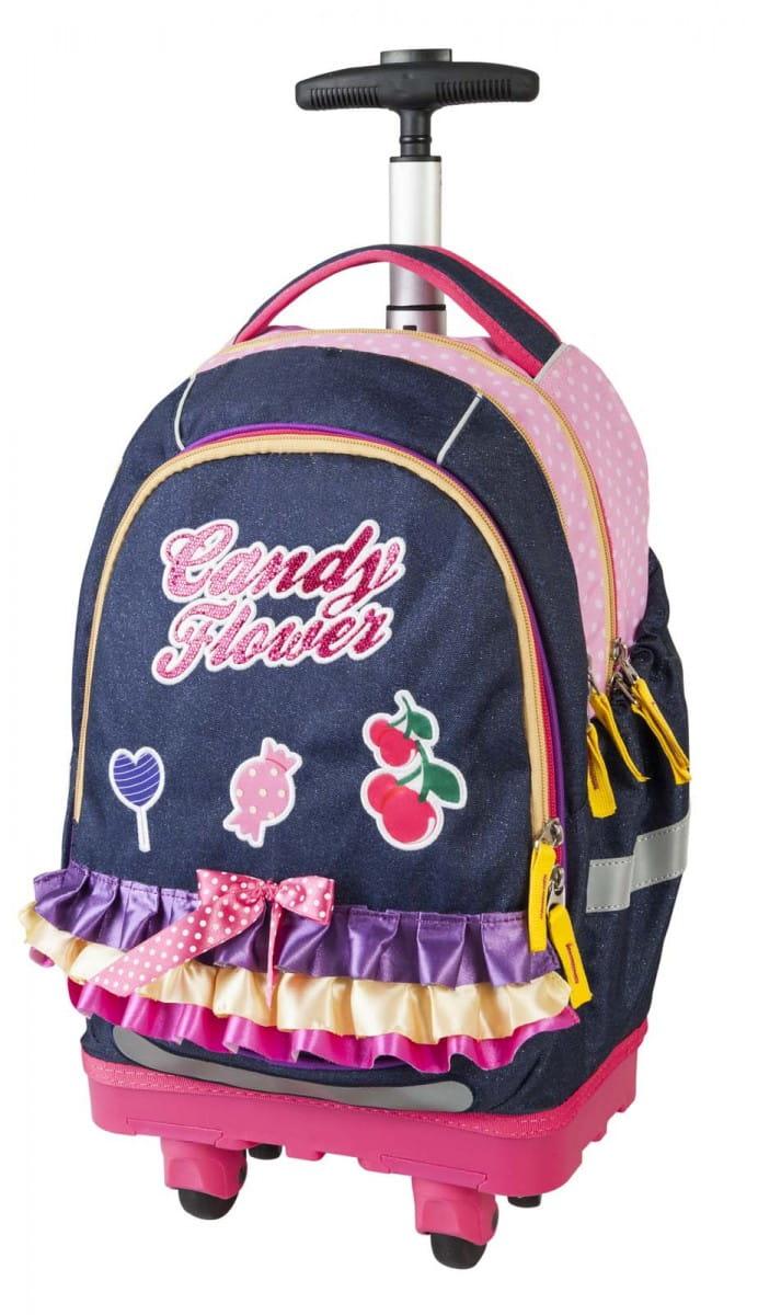 Рюкзак-тележка Target Collection Сладкие цветы - Рюкзаки