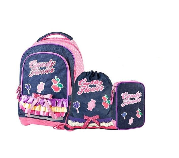 Супер легкий рюкзак Target Collection 19665 Сладкие цветы 4 в 1