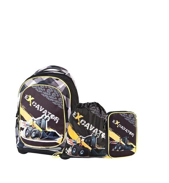Супер легкий рюкзак Target Collection Экскаватор 2 (4 в 1) - Рюкзаки