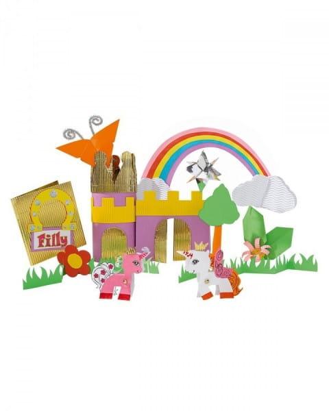 Купить Игровой набор для творчества из бумаги Filly Мир Филли в интернет магазине игрушек и детских товаров