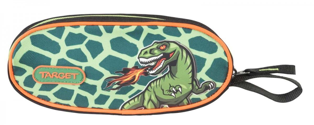 Пенал овальный Target Collection 17969 Динозавр
