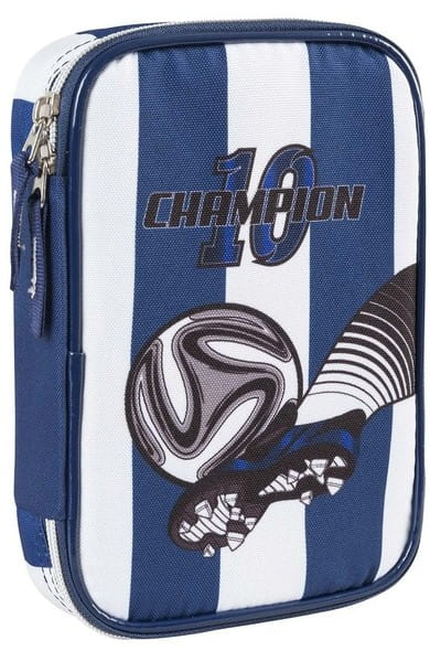 Пенал с канцтоварами Target Collection 17871 цвета FC Real Madrid