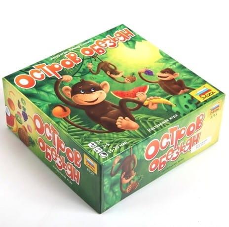 Настольная игра Звезда 8759 Остров обезьян