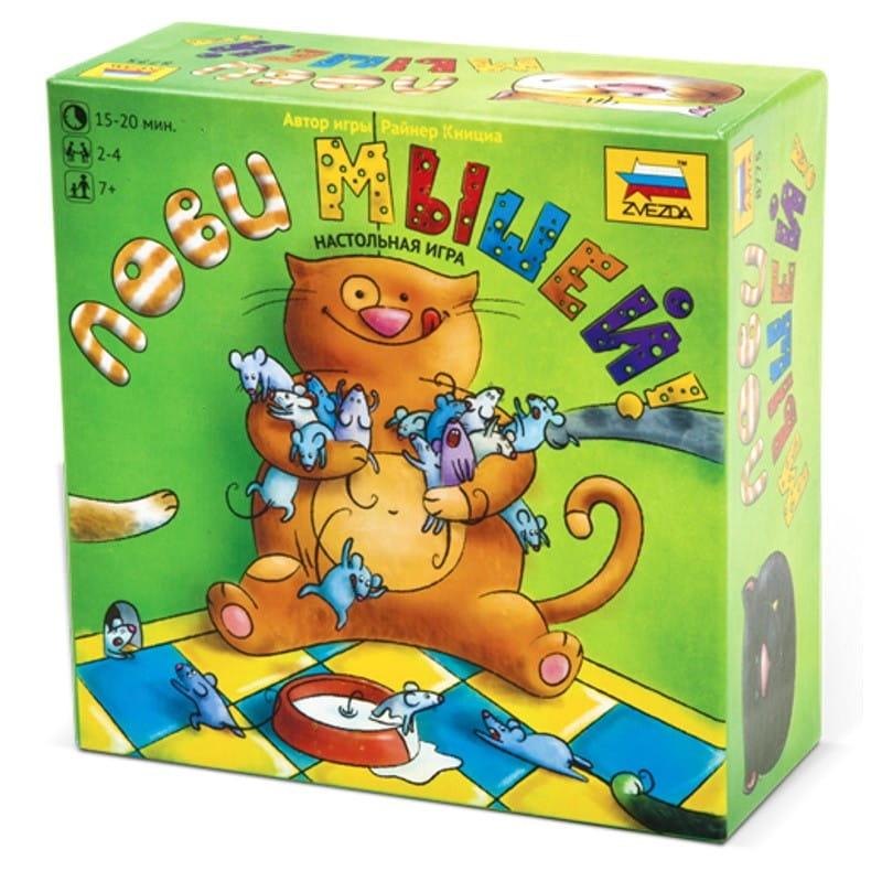 Настольная игра Звезда 8775 Лови мышей