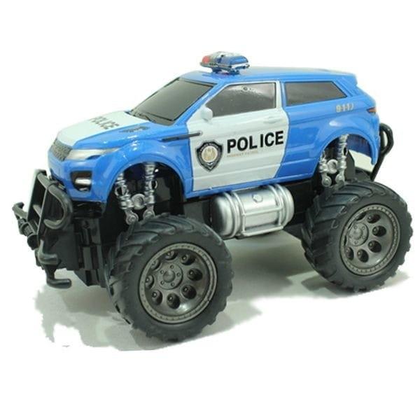 Радиоуправляемый джип YAKO FullFunc Safari - Полиция (синий)