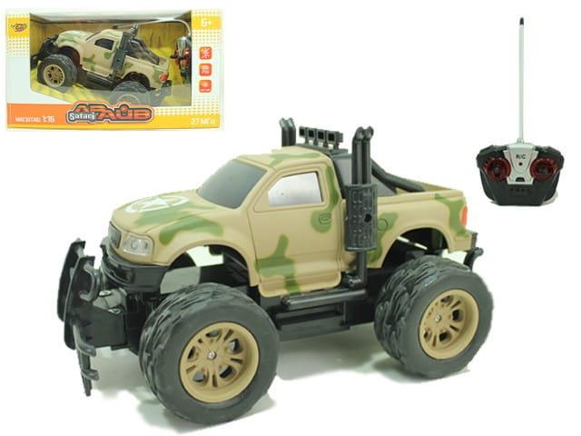 Радиоуправляемый джип Yako М81624 FullFunc Safari - Болотный пикап