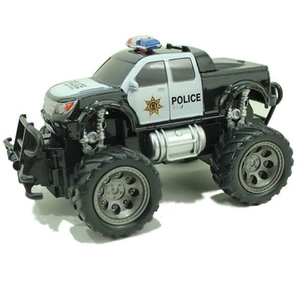 Радиоуправляемый джип Yako М81625 FullFunc Safari - Полиция (черный пикап)