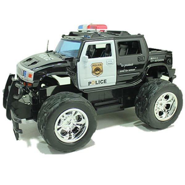 Радиоуправляемый джип Yako М81628 FullFunc Safari - Полиция (черный)