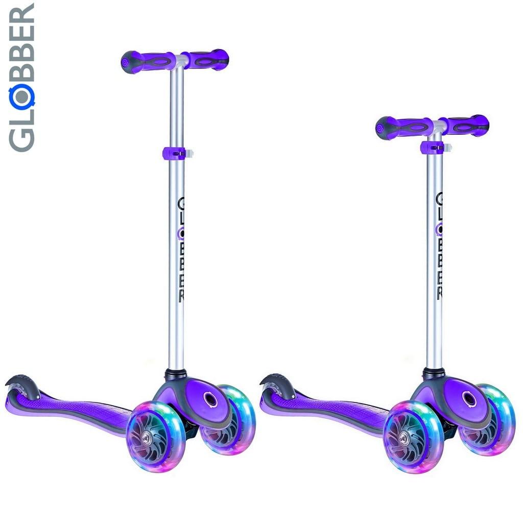 Самокат Globber 6485 Primo Plus Titanium - Purple