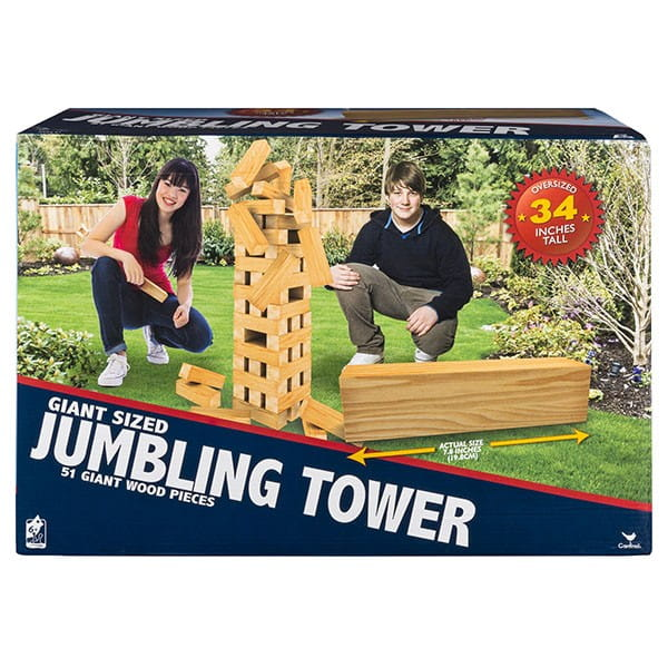 Настольная игра Spin Master 6038102 Падающая башня - Гигант