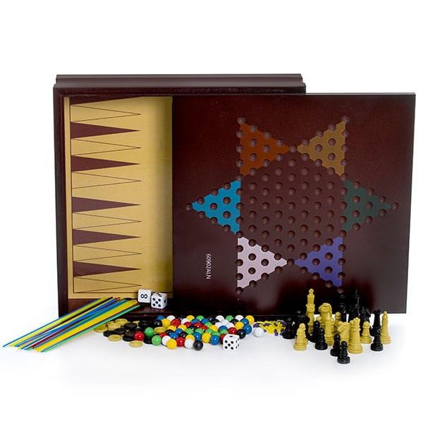 Большой набор Spin Master 6033153 для всей семьи - 10 настольных игр
