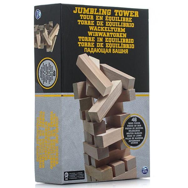 Настольная игра Spin Master 6033149 Падающая башня (в коробке)