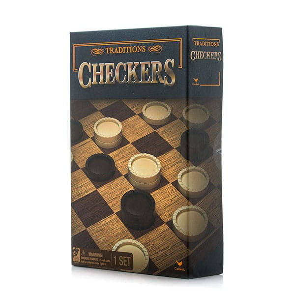 Настольная игра Spin Master 6038144 Классические шашки