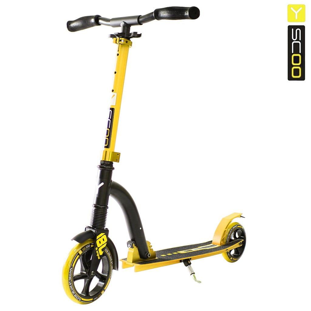 Самокат Y-Scoo 5384 RT Slicker 180 Deluxe - Yellow