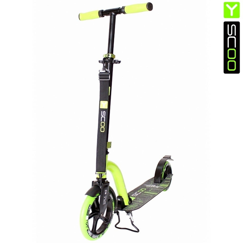 Самокат Y-SCOO RT 230 Slicker New Technology - Green