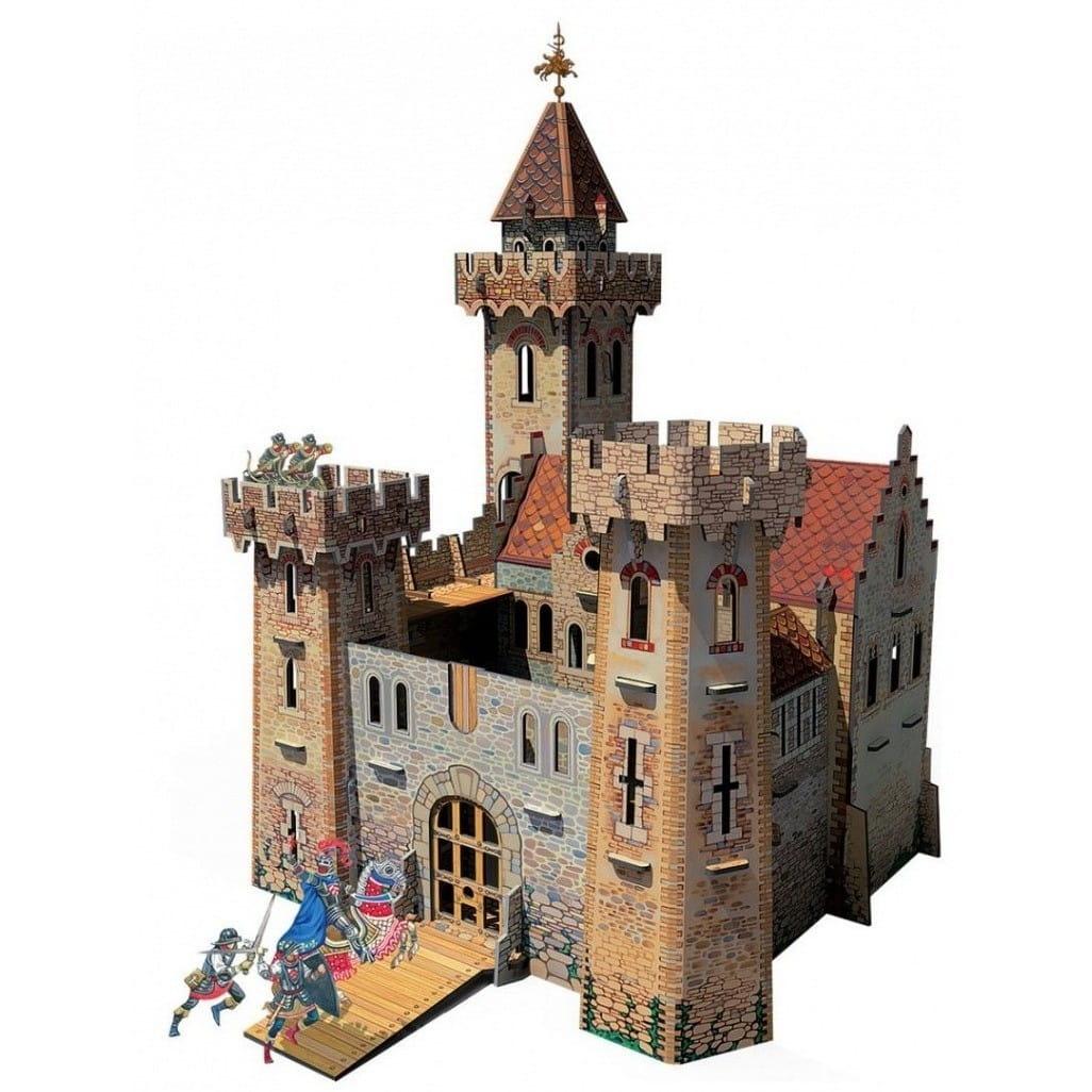 Сборная модель Умная Бумага Р35801 Рыцарский замок
