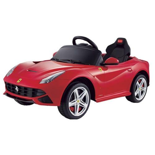 Купить Радиоуправляемый электромобиль Rastar Ferrari F12 в интернет магазине игрушек и детских товаров