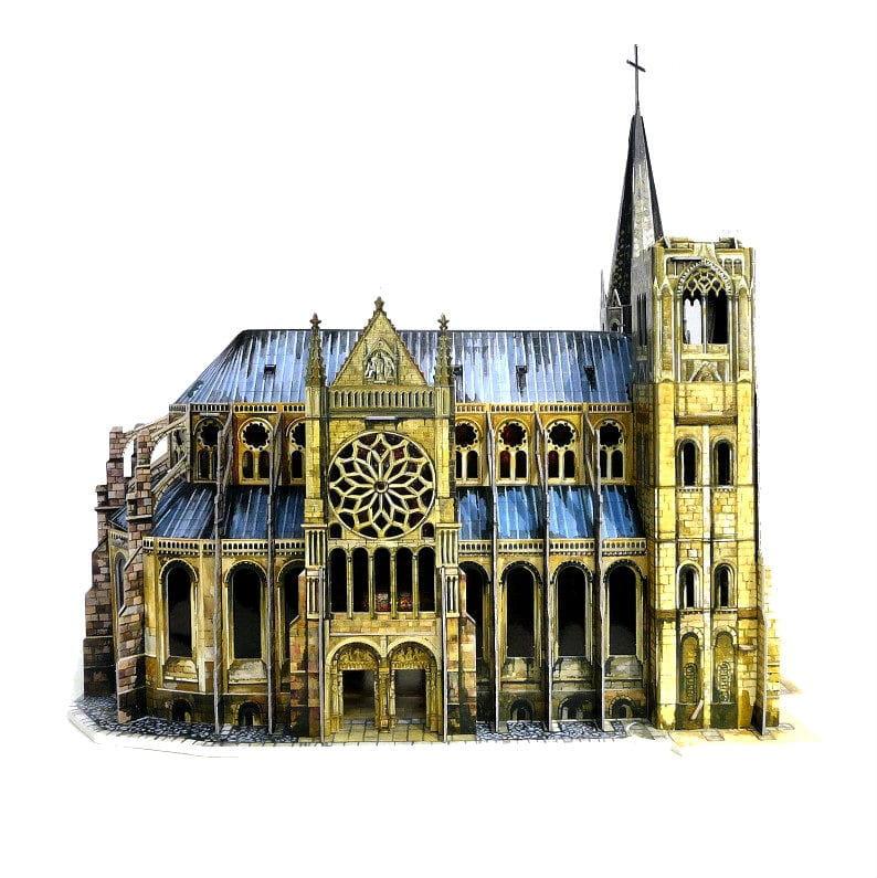 Сборная модель Умная Бумага Р38645 Готический собор