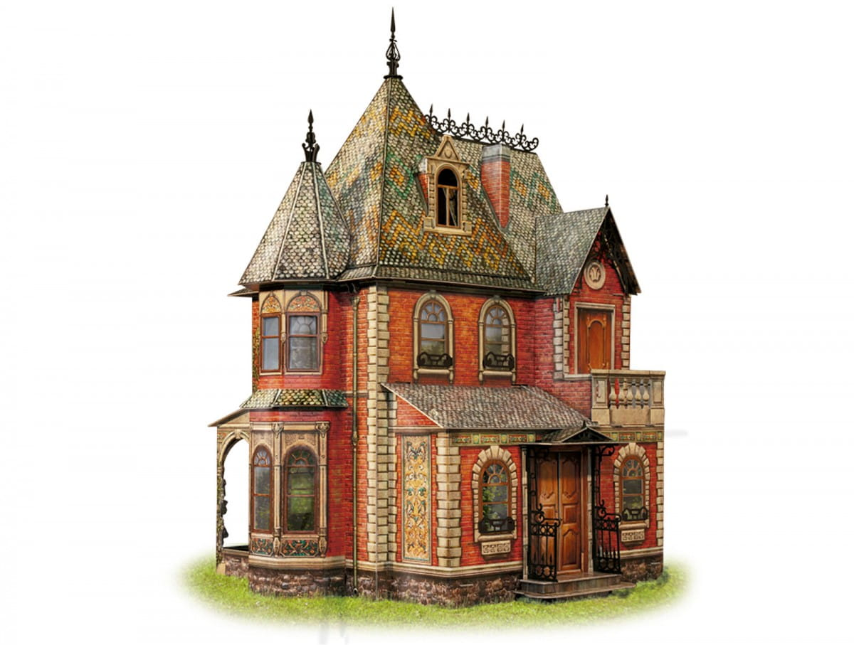 Сборная модель Умная Бумага Р43589 Кукольный дом