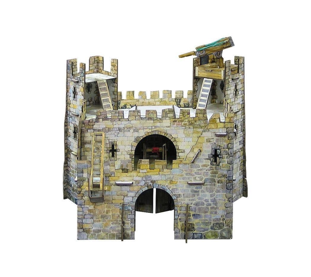 Сборная модель Умная Бумага Р54114 Главные ворота