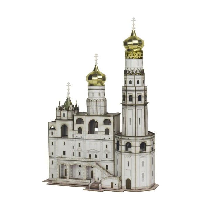 Сборная модель Умная Бумага Р57724 Колокольня Ивана Великого