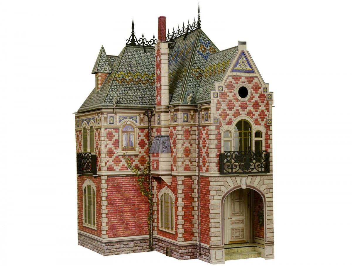 Сборная модель Умная Бумага Р59213 Кирпичный кукольный домик