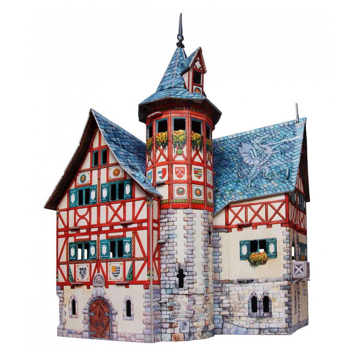 Сборная модель Умная Бумага Р84962 Новая ратуша