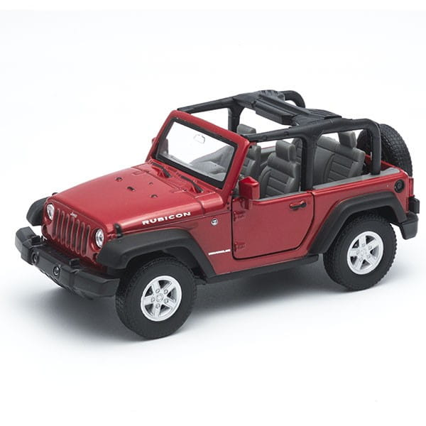 Машинка Welly 42371 Jeep Wrangler Rubicon 1:34-39