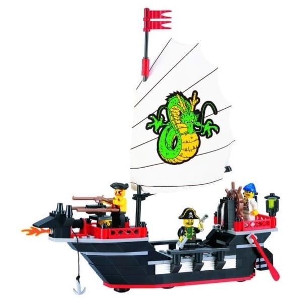 Конструктор Enlighten Brick Г18059 Корабль - 211 деталей