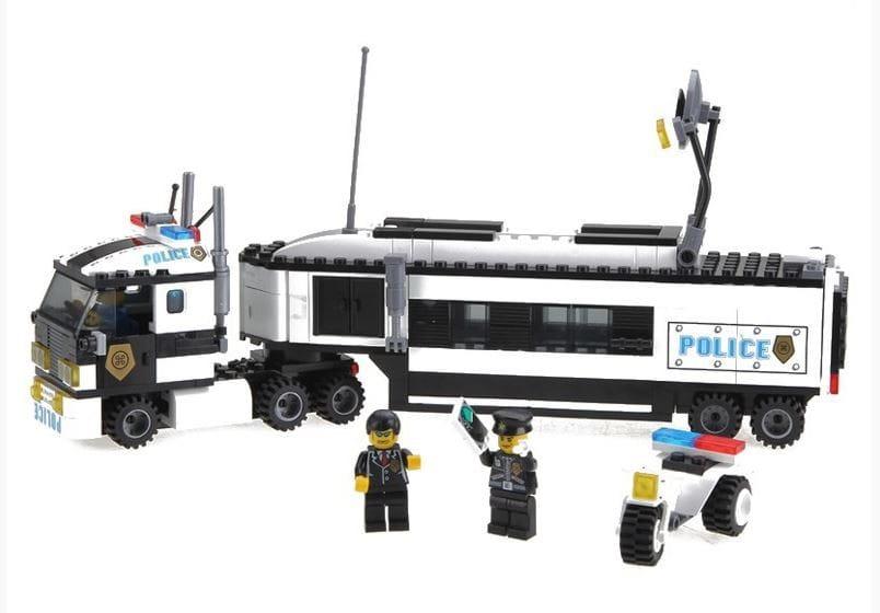 Конструктор Enlighten Brick Г21623 Riot Tracking Полицейский грузовик - 325 деталей