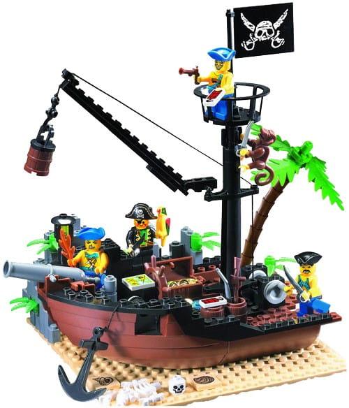 Конструктор Enlighten Brick Г28162 Пиратский док - 178 деталей