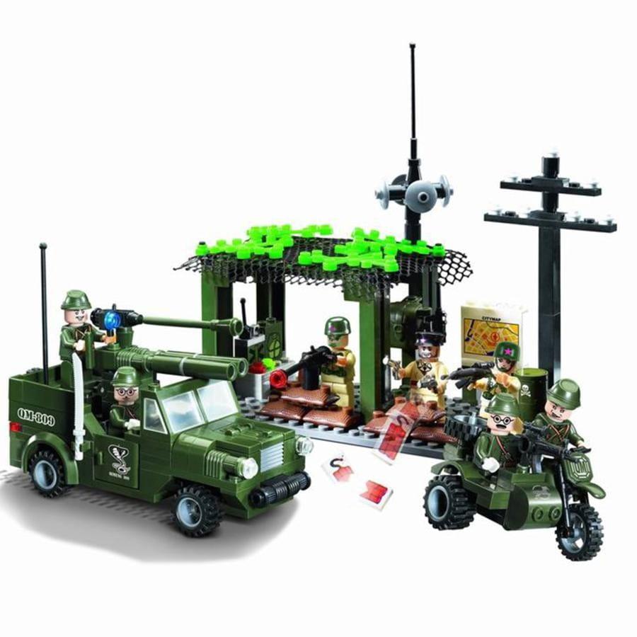 Конструктор Enlighten Brick Г38921 Вооруженные силы - 285 деталей