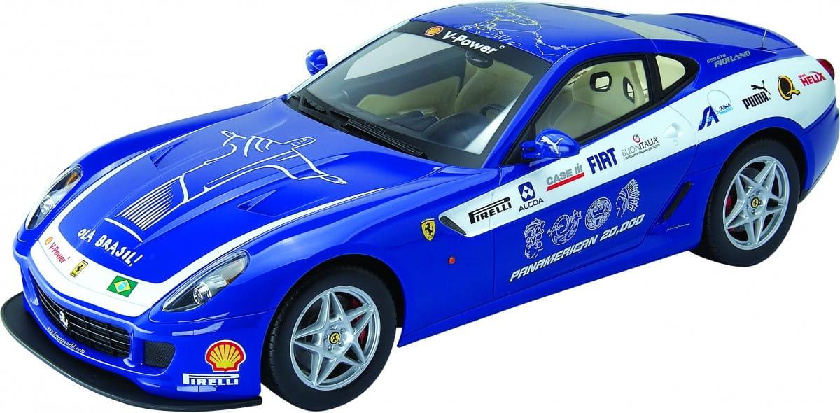 Радиоуправляемая машина MJX Ferrari 599 GTB Fiorano 1:10 синяя