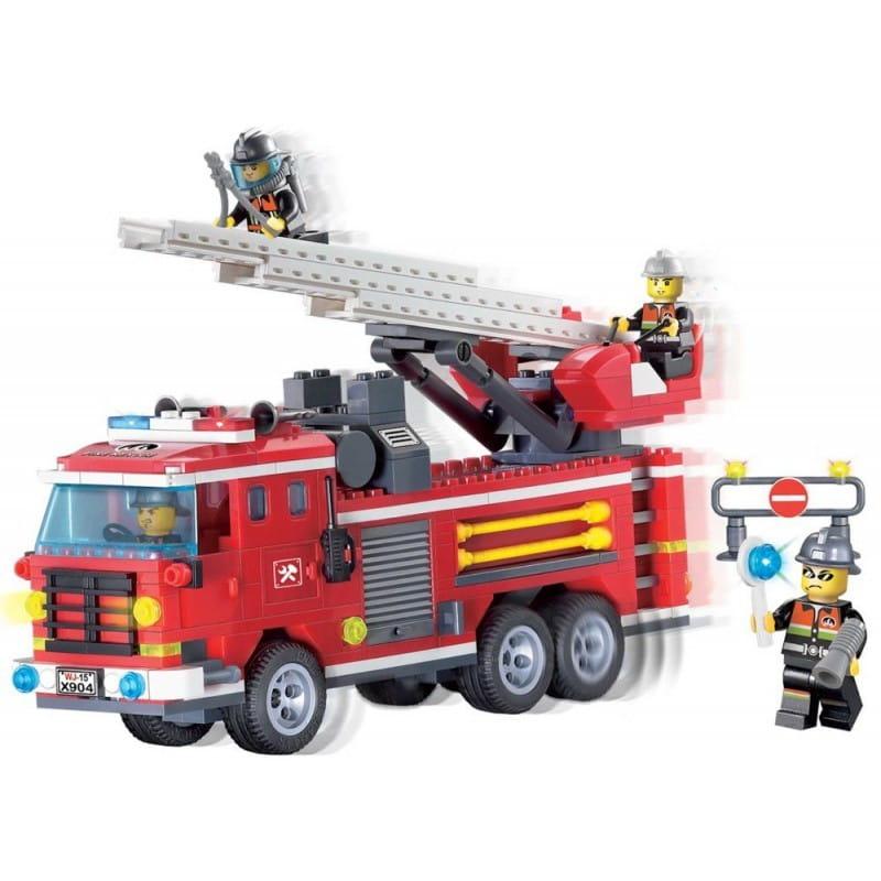 Конструктор Enlighten Brick Г45470 Fire Rescue Пожарная машина - 364 детали