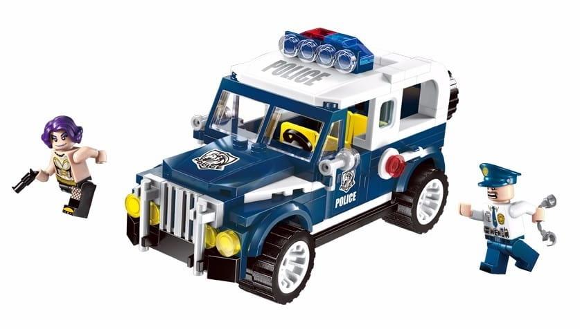 Конструктор Enlighten Brick Г78513 Police Полицейская машина - 149 деталей