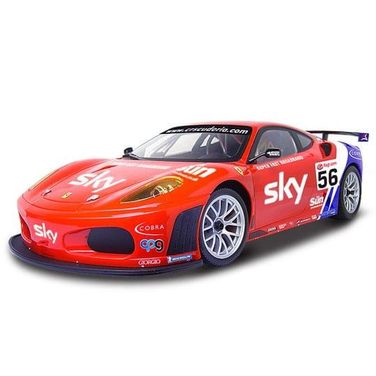 Купить Радиоуправляемая машина MJX Ferrari F430 GT-56 1:10 в интернет магазине игрушек и детских товаров