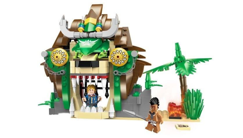 Конструктор Enlighten Brick Г79620 Pirates Legendary Пещера - 328 деталей