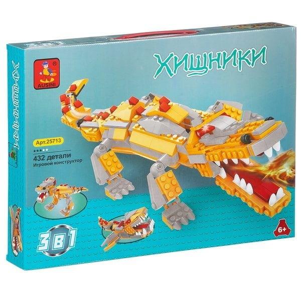 Конструктор AUSINI Динозавр - 432 детали