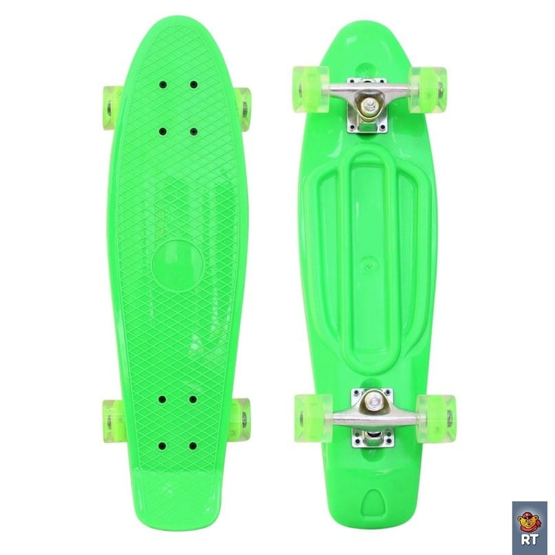 Скейтборд RT 6442 Classic 22 дюйма - зеленый