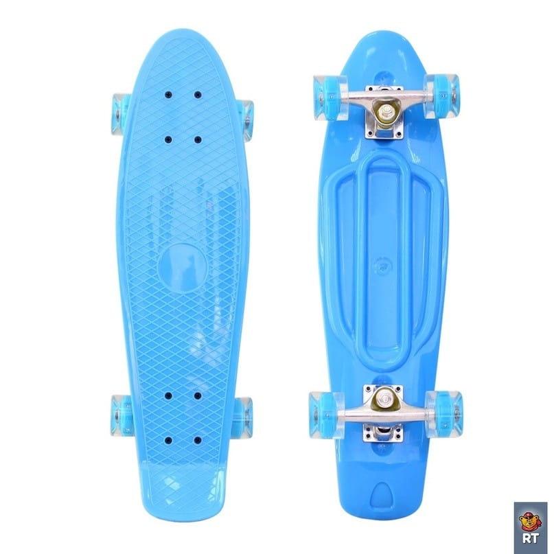Скейтборд RT 6436 Classic 22 дюйма - голубой